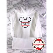 mickey mouse dressing gown older kids